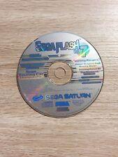 SEGA SATURN FLASH VOL 7 DEMO DISC MAGAZINE DEMO