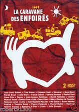 D.V.D./...LA CARAVANE DES ENFOIRES..../...2 DVD..../...2007.......