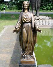 Bronzeskulptur, Jesus, Garten- und Grabdekoration