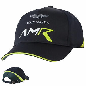Official Aston Martin Racing Team Mens Baseball Cap Adults Hat One Size Navy
