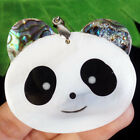 Carved+Natural+Abalone+Shell+White+Shell+Panda+Head+Pendant+Bead+R05824
