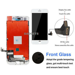 For iPhone 7 Plus LCD Touch Digitizer Screen Full Assembly Replacement White