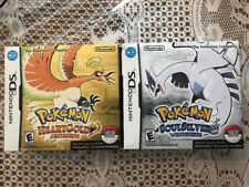DS POKEMON HEARTGOLD  HEART GOLD AND DS SOULSILVER SOUL SILVER- NEW IN BOX READ