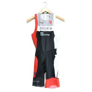 Castelli Triathlon Women's Bib Jersey Shorts Cycling Bike Size L