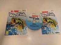 * NINTENDO Wii / Wii U Game * RAPALA WE FISH *
