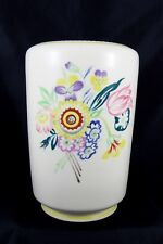 Stunning Vintage Poole Pottery Hand Made & Hand painted Large Vase #858