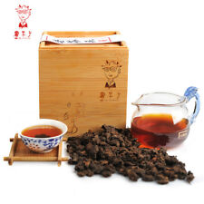 Dr. Pu'er Tea 500g 1.1lb 2014 Menghai Ripe Aged Puer Tea with Bamboo Box