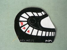 SEWING PATCHES MPA HELMETS ? MOTO GP ? VINTAGE OLD