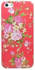 Palo Electronics Apple iPhone 4 5 5S Estuche Cubierta con Patrón Flor Accesorio del teléfono