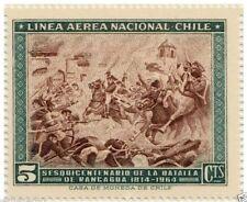 Chile 1965 #677 Sesquicentenario Batalla de Rancagua MNH
