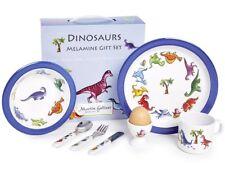 Martin Gulliver Designs Dinosaurs Gift Set, Melamine, Multi-Colour, 23 x 23 x 7