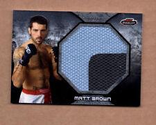 2013 Finest UFC Jumbo Fight Mat Relics #FFMMB Matt Brown