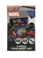 Marvel Avengers - 3 Piece Twin Sheet Set