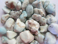 Larimar Dolphin Stone10mm QTY3 Tumbled Healing Crystal Pregnancy Singers Voice