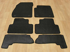 Vauxhall Zafira Tourer 2012-on Fully Tailored RUBBER Car Mats in Black.