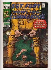 SGT FURY #62 (1969-01) MARVEL Nick Fury and his Howling Commandos WWII
