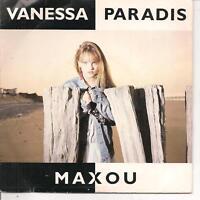 """45 TOURS / 7"""" SINGLE--VANESSA PARADIS--MAXOU / LE BON DIEU EST UN MARIN--1988"""