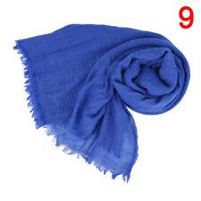 Premium Viscose Maxi Crinkle Cloud Hijab Scarf Shawl Soft Islam Muslim Chic