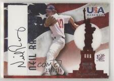 2007 USA Baseball National Jersey & Signature Black Ink /295 Neil Ramirez Auto