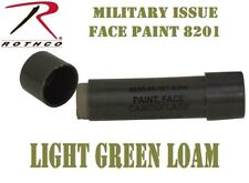 Militar Issue Army USMC NATO Light Green Loam Face Paint Cream Stick Rothco 8201