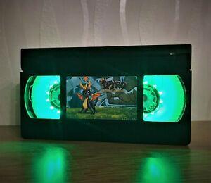 PlayStation Spyro Dragon VHS Night Light, Computer Game, Desk Lamp, Gift, Kids