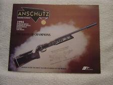Anschutz 1994 catalog