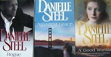 Bulk Danielle Steel Amazing Grace A Good Woman Rogue 3 x Large Softcovers