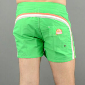 Sundek Short Nylon M502 Rainbow Green Mod. M502BDTA100-418