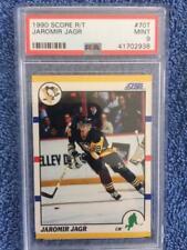 1990 Score Jaromir Jagr PSA 9 card #70T Penguins
