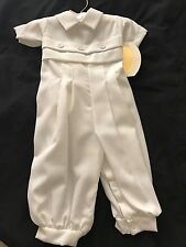 Boys Christening Gabardine 2 PC Set from LITTLE THINGS MEAN A LOT
