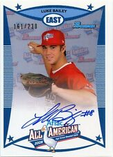 2010 Bowman DP&P AFLAC Luke Bailey On Card Autograph 161/230 Tampa Bay Rays