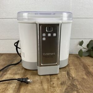 Cuisinart CYM-100 Electronic Yogurt Maker with Automatic Cooling Simple