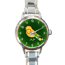 Magical Bird Charm Bracelet Charm Watch Artistic Analog Quartz Battery Gift