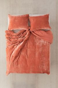 Ultra Luxury Crushed Velvet Duvet Cover Bohemian Bedding Stylish Comforter King