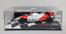 MINICHAMPS 1/43 F1 NIKI LAUDA MCLAREN FORD MP4/1C GP USA 1983 WITH DECAL TOBACCO