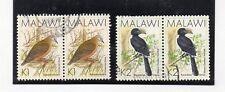 Malaui Fauna Aves Valores del año 1988 (DM-675)