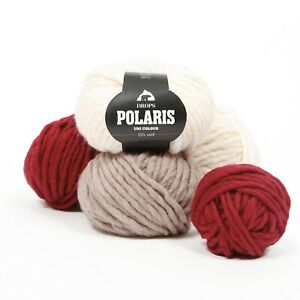 DROPS Polaris 100% WOOL Oeko-Tex® Super Chunky Bulky Winter Knitting Yarn 100g