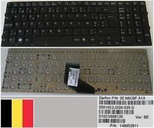 Teclado Azerty Belga SONY VAIO VPC-F219FC Serie, 9Z.N6CBF.A1A,148952931 Negro