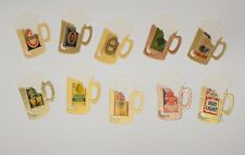10 Cider/Lager Tankards Handmade Card Toppers (self adhesive)