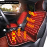 Adjustable Temperature Car Seat Heater Warmer Heated Cushion Heating Pad Cover