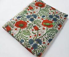 10 Yard Hand Block Print Fabric Cotton India Crafts Jaipuri Dress Voile Fabric 9
