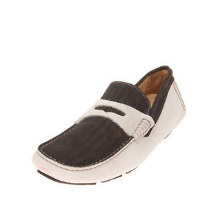 RRP €160 GOLD BROTHERS Leather Driving Moccasins Size 42 UK 8 US 9 Made in Italy