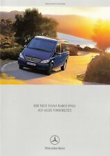 Prospekt / Brochure Mercedes Viano Marco Polo 06/2005