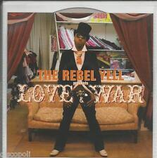REBEL YELL - Love & war - CD PROMO NO JEWEL CASE NEW