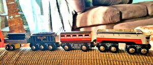 THOMAS THE TRAIN WOODEN RAILWAY Imaginarium Magnet Train Engine, Tenor & Cargo