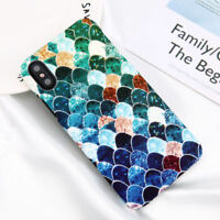 For Samsung Galaxy S9 Plus S8 Case Shockproof Ultra-thin Pattern Hard Back Cover