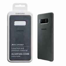 Official Genuine Samsung Galaxy Note 8 Alcantara Case Cover - Dark Grey