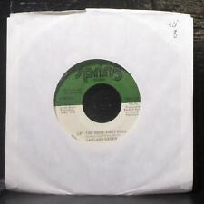 "Garland Green - Let The Good Times Roll 7"" VG Vinyl 45 Spring SPR 151 USA 1974"