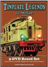 Tinplate Legends in Action 5 Disc DVD Box Set NEW Vols 1-5 Lionel Marx Marklin