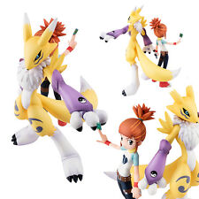 Anime Figure Toy Digimon Adventure Makino Ruki Renamon Figurine Statues 13cm